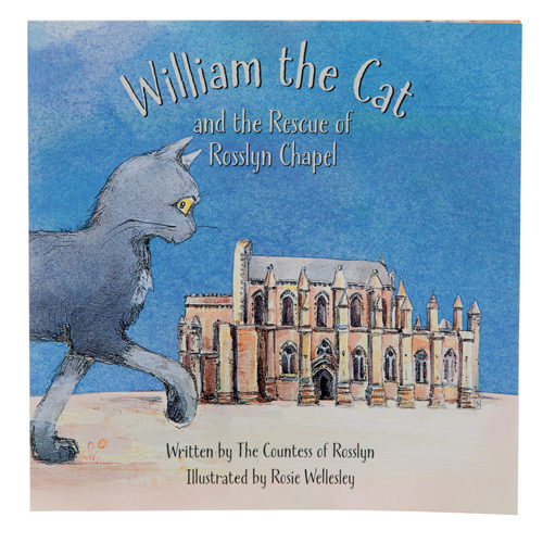 Rosslyn-Chapel-William-the-Chapel-Cat-Story-Book