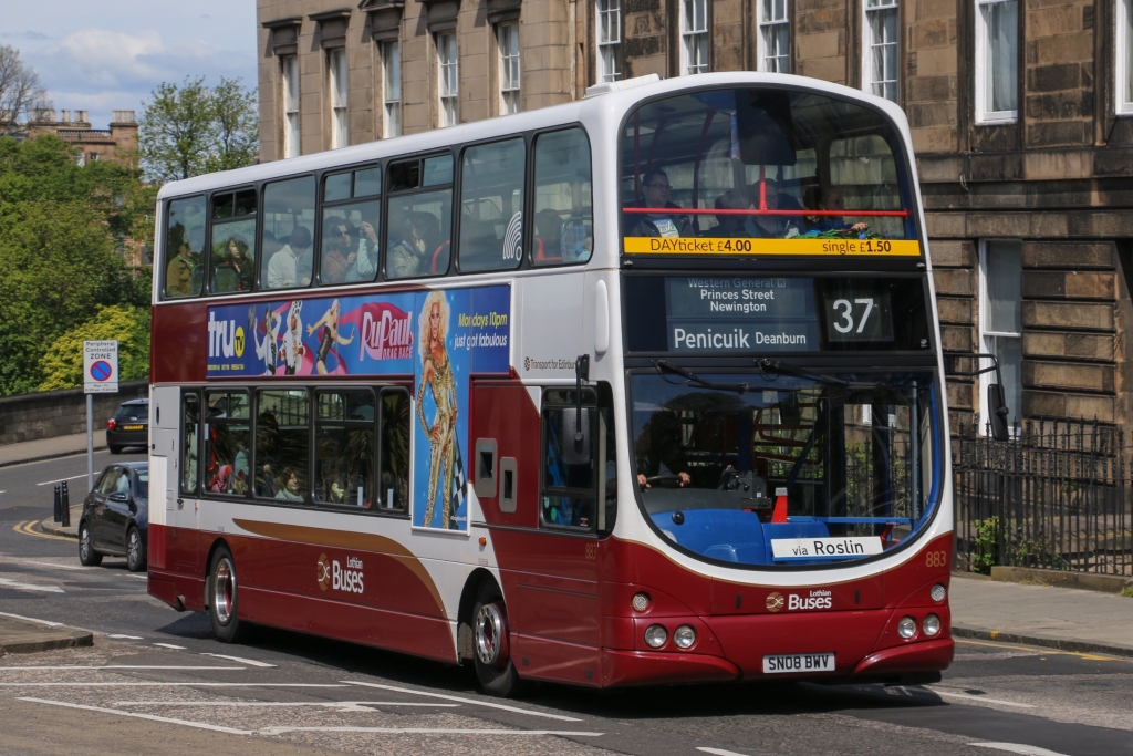 Bus Tour Scotland Edinburgh