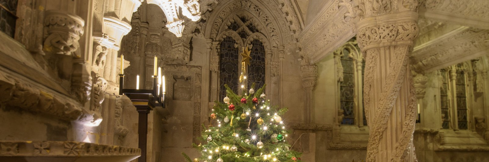 Rosslyn Chapel at Christmas
