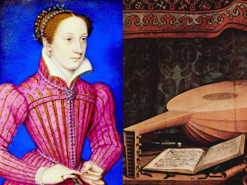 Mary Queen of Scots and medieval instruments