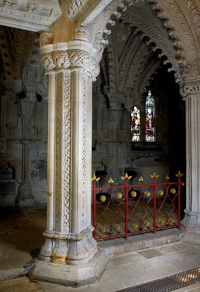 Mason's Pillar, Rosslyn Chapel
