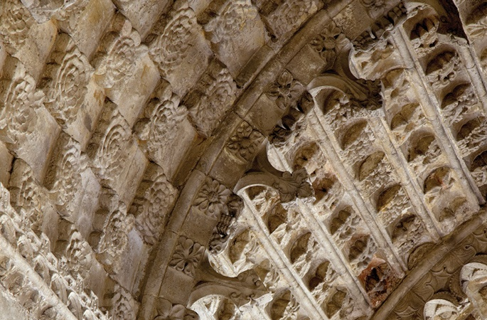 Chapel ceiling carvings, Rosslyn Chapel