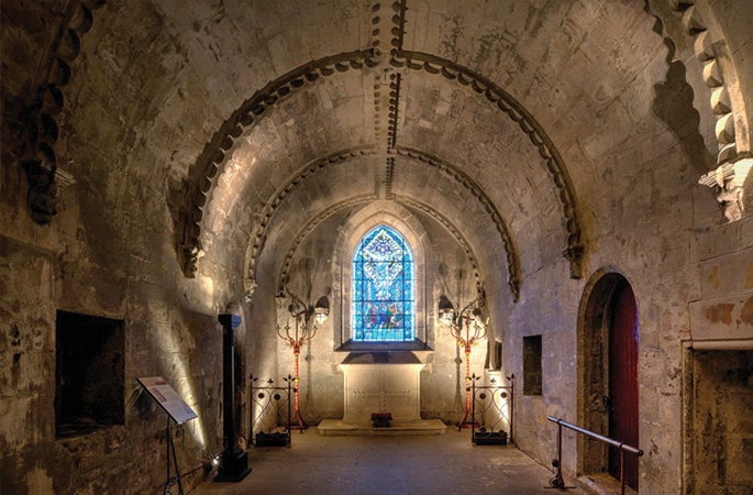 Rosslyn Chapel crypt