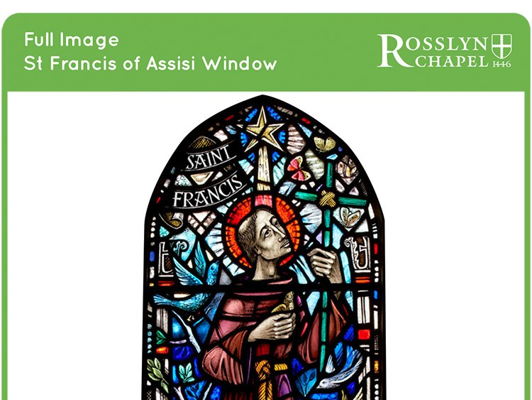 St Francis of Assisi window - Full Page Image [PDF]