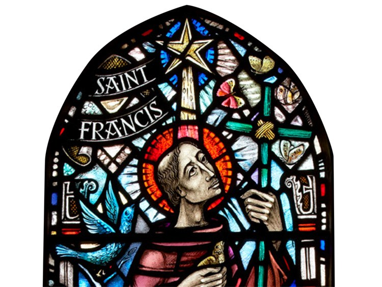 St Francis of Assisi window