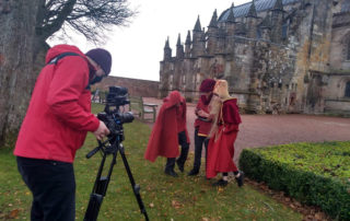 Junior Tour Guides feature - Rosslyn Chapel